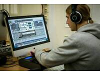 Tutorials on digitally recording music with inclusive software installation