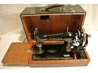 Singer 99K Handcrank SEMI-INDUSTRIAL sewing machine