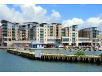 STUNNING SEA VIEWS! VERY SPACIOUS & MODERN 2 DOUBLE, 2 BATH FLAT WITH BALCONY AND PARKING IN POOLE