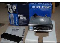 Alpine CDM-7859RB in original packaging