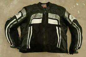 Heingerike Leather motorcycle jacket