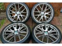 "BMW CSL 20"" alloy wheels - Space Grey - 5 x 120 - 245/35 - 8.5j - 815kg load - £500"
