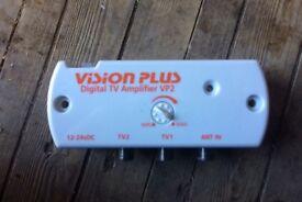 Vision Plus VP2 caravan television amplifier