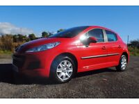 Peugeot 207, 100,278 miles. MOTed until 31/07/2017. Clean and tidy inside and out and drives well