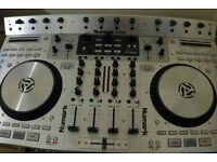 DJ equipment sale Numark 4trak DJ controler Mackie SRM40 speakers Lenovo laptop Numark carry case