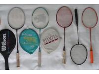 5 badminton rackets