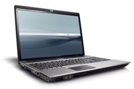 FAST CHEAP HP Compaq Laptop Core 2 Duo 2GB 250GB WIFI DVDRW Window 7 Pro