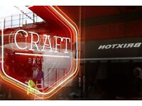 Assistant Manager needed at The Craft Beer Co. Brixton