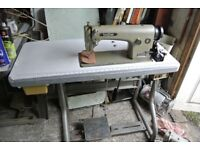 Brother INDUSTRIAL Lockstitch Flatbed Sewing machine for Alteration shops, Home use,