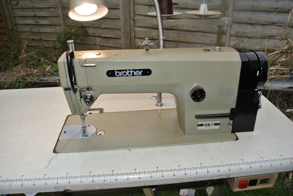 BrotherHeavyDutyLockstitchSewingmachineFORHORSERUGSCOSTUMES Mesmerizing Denim Needle For Brother Sewing Machine