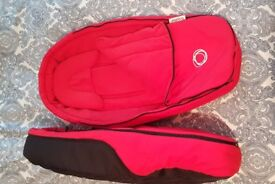 2x Bugaboo Bee Cocoon Light - Red - £30 per item