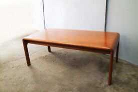 1970's mid century Danish coffee table
