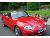mazda mx5 euphonic limited edition