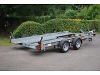 IFOR WILLIAMS CT136 HD car transporter trailer