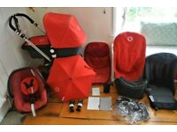 Bugaboo cameleon 3 in 1 pram, immaculate & very well cared for, with footmuff, maxi cosi, rain cover