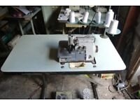 Brother HEAVY DUTY overlock sewing machine 5 Thread