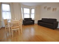 First and second floors 3 bedroom/2 bathroom flat in NW10. Rent includes council tax