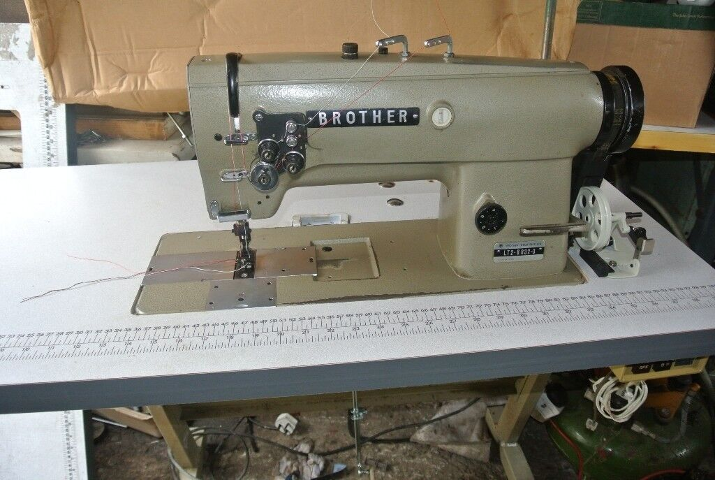 Brother Heavy Duty Lockstitch Sewing Machine FOR HORSE RUGS Custom Denim Needle For Brother Sewing Machine