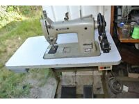 Mitsubhishi HEAVY DUTY Walking Foot Sewing Machine ,HARNESS, LEATHER, HORSE RUG, BOUNCY CASTLES