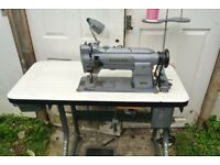 Singer Compound Feed Industrial Walking Foot Sewing Machine FOR HNADBAGS, UPHOLSTERY, BOUNCY CASTLES