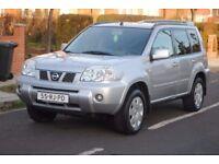 LHD LEFT HAND DRIVE NISSAN X-TRAIL 2005 4x4 DVD, SAT-NAV ,AC, CLEAN CAR