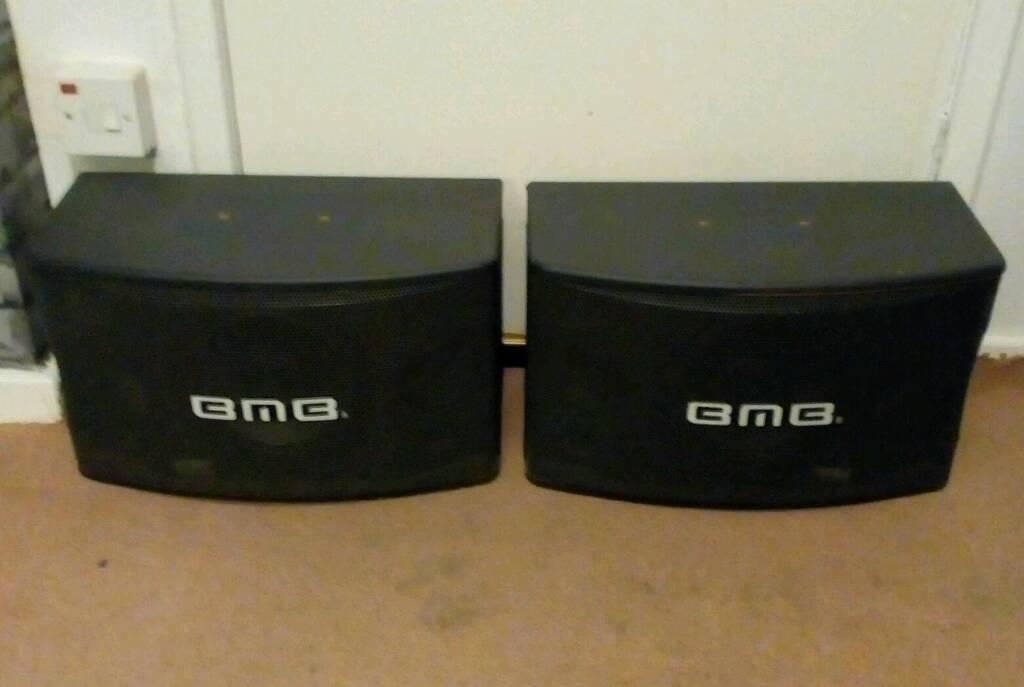 BMB CS-350V Professional Karaoke Speakers.