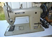 Mitsubhishi DY-253 Industrial Walking Foot Sewing Machine ,HARNESS, LEATHER, HORSE RUG
