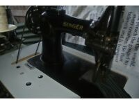 Singer 132K6 Walking Foot Lockstitch HEAVY DUTY Sewing Machine
