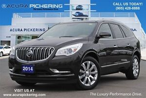 2014 Buick Enclave Leather AWD|Navi|Sunroof|Rear DVD