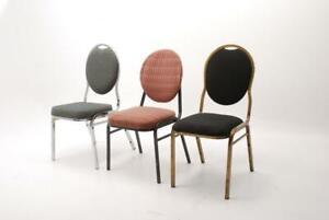 chaise banquet 4 modèles pour restaurant église conférence à vendre