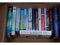 16 x Fiction Books - Mostly Female Fiction