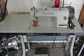 Typical Top & Botton Feed Walking foot Heavy Duty Industrial Sewing Machine