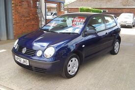 2003 Vw Polo 1.4s 1 lady owner 39000 miles with 13 stamps of history pas