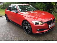 Late 2012 BMW 3 series F30. Melbourne Red. M Performance Kit