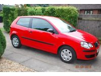 VW Polo 2007 - very low mileage and one careful owner.