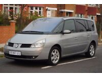 LHD LEFT HAND DRIVE RENAULT ESPACE 7 SEATER 2003,AUTOMATIC, XENON,PANORAMA SUNROOF, PDC,LEATHER