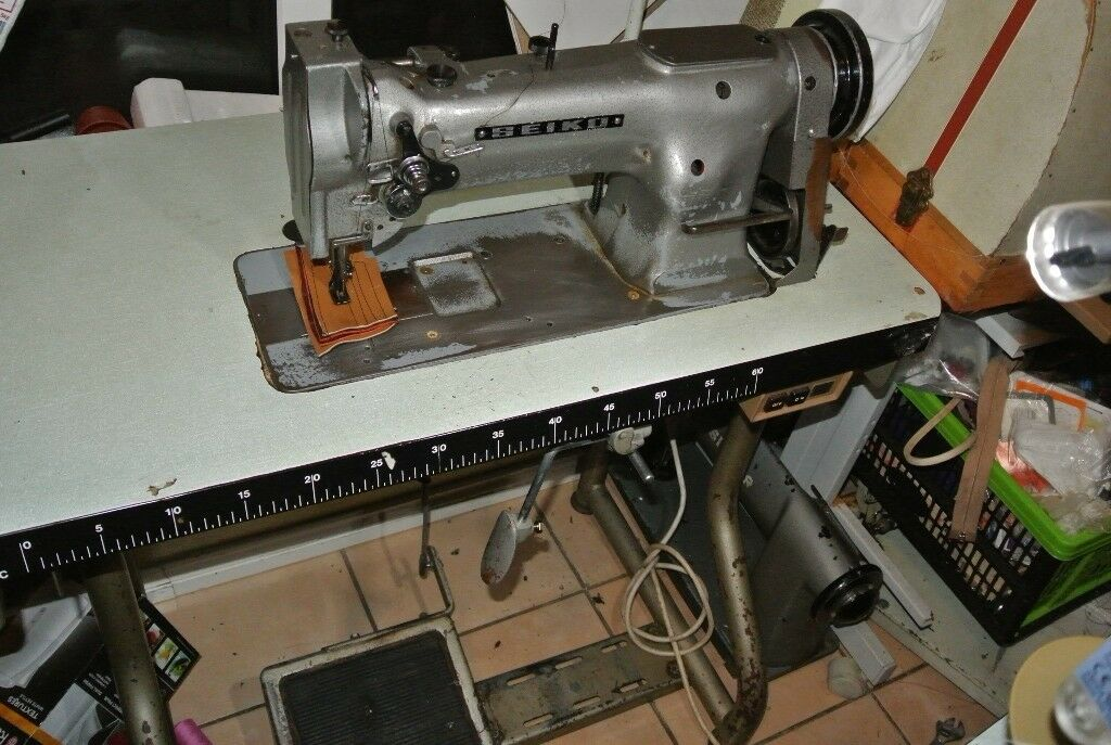 Seiko Compound Needle Feed Industrial Walking Foot Sewing Machine Amazing Seiko Sewing Machine