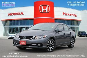 2013 Honda Civic Touring | LEATHER | NAVI | REAR CAMERA