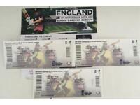 England v Australia ODI Cardiff Saturday 16 June