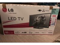 "LG 32"" Widescreen 1080p Full HD LED TV with Freeview, Intelligent Sensor and HDMIs [Energy Class A]"