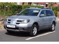 LHD LEFT HAND DRIVE MITSUBISCHI OUTLANDER 4X4 2004 AUTOMATIC CLEAN CAR