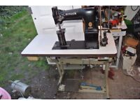 SINGER 138W101 POSTBED TWIN NEEDLE FEED Industrial Sewing Machine