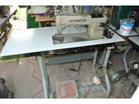 Wilcox & Gibbs Heavy Duty Lockstitch Sewing machine for Alteration shops, Home use, factory