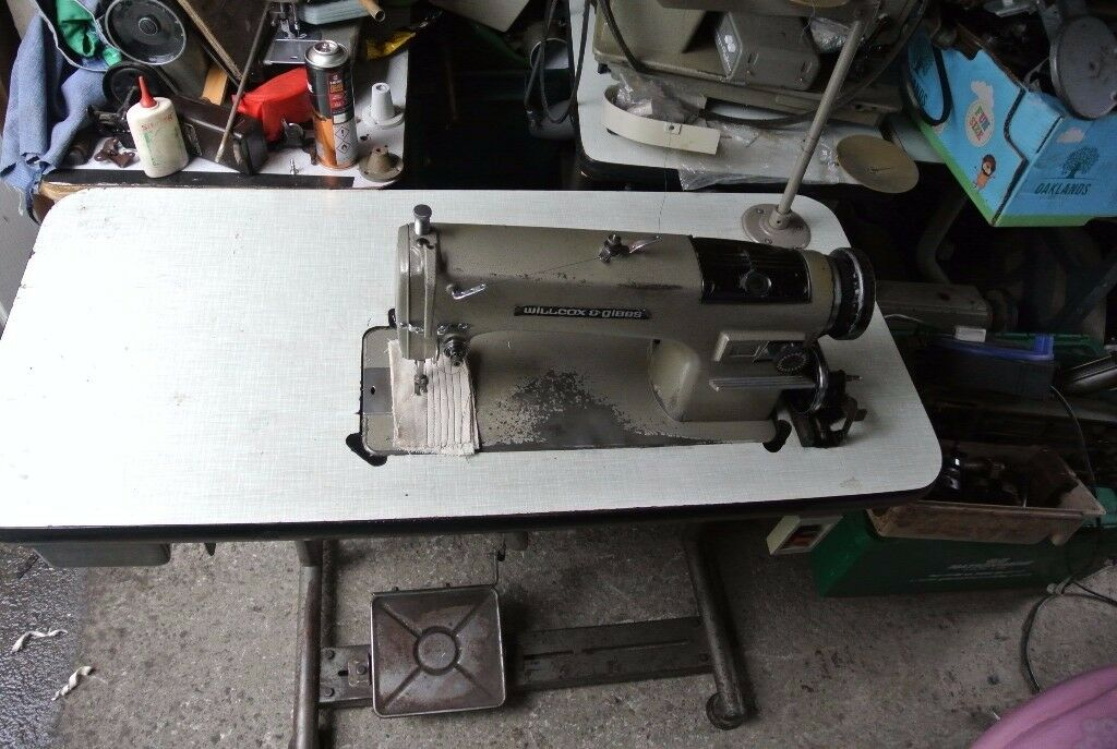 Wilcox & Gibbs Industrial lockstitch Sewing machine