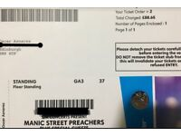 Maniac Street Preachers Mon 23-April Newcastle