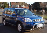 LHD LEFT HAND DRIVE NISSAN X-TRAIL 2007 2.0 4x4,REVERSE CAMERA, AUTOMATIC,SAT-NAV, KEYLESS ENTRY