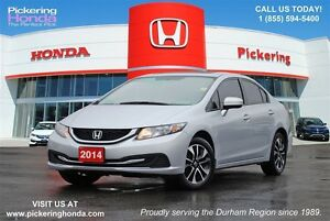 2014 Honda Civic EX | HEATED SEATS | SUNROOF | REAR & SIDE CAMER