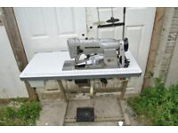 Seiko Walking Foot Compound Needle Feed Industrial Sewing Machine , For Bouncy Castles, Upholstery