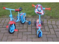 Bargain! - Thomas the Tank Bike with stabilisers and Scooter!