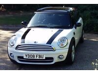 Mini clubman cooper d. with part blue leather seats and bluetooth looks great, feels great